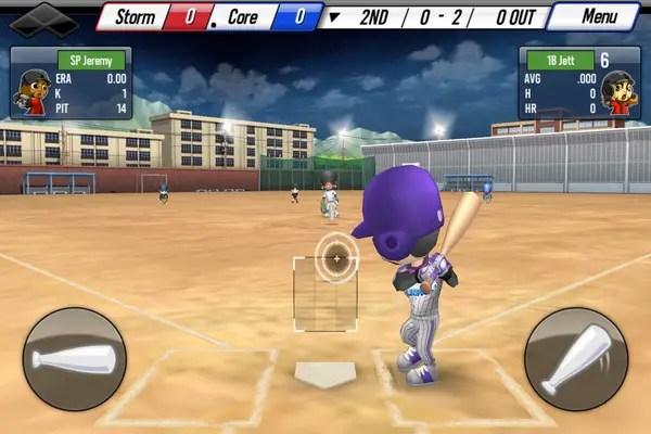 Android Baseball Star Batting