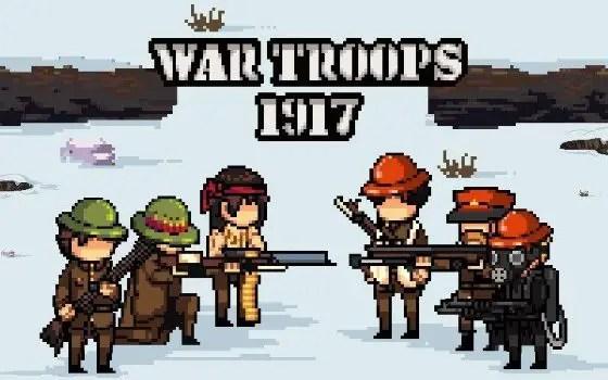 War Troops 1917