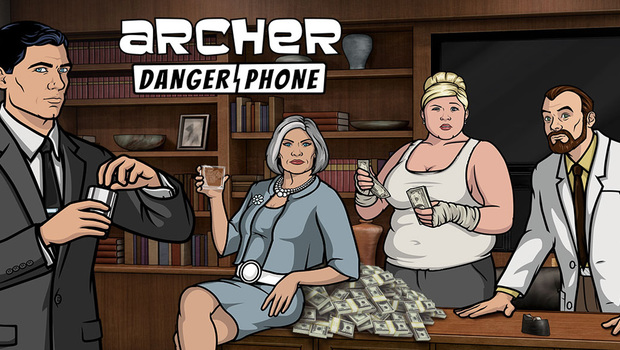 Android Archer Danger Phone