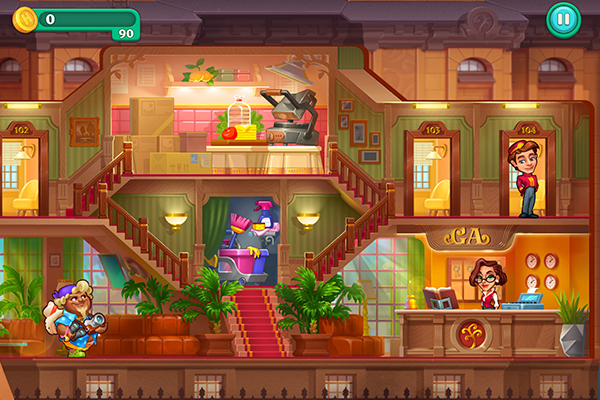Android Grand Hotel Mania Golden Apple