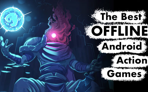 Top 11 Offline Action Games, image pulled from Dead Cells' developer's promo materials