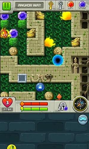 Diamond Quest 2 in-game puzzle