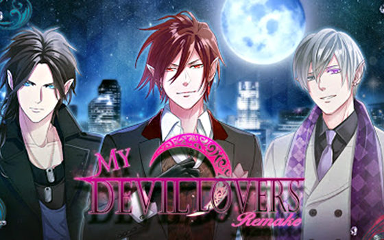 My Devil Lovers title screen