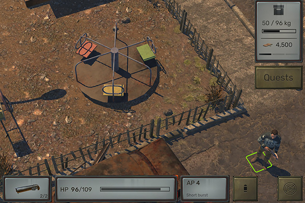 ATOM RPG in-game screenshot