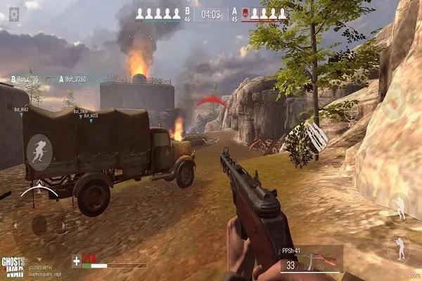 Ghosts of War Gameplay