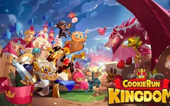 Cookie Run Kingdom title screen
