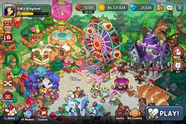 Cookie Run Kingdom in-game screenshot