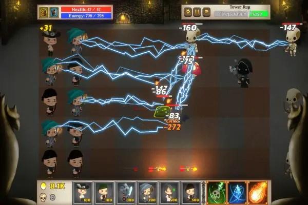 Mystic Hammer Gameplay