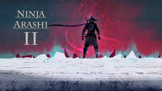 Ninja Arashi 2 startup screen