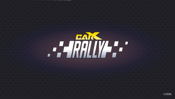 CarX Rally Title Screen