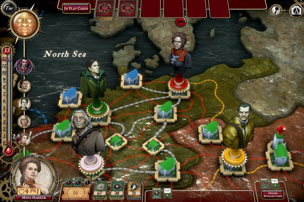 Fury of Dracula map interface