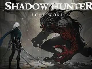 Shadow Hunter: Lost World Title Screen