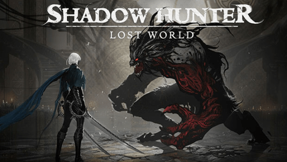 Shadow Hunter: Lost World Title Screen