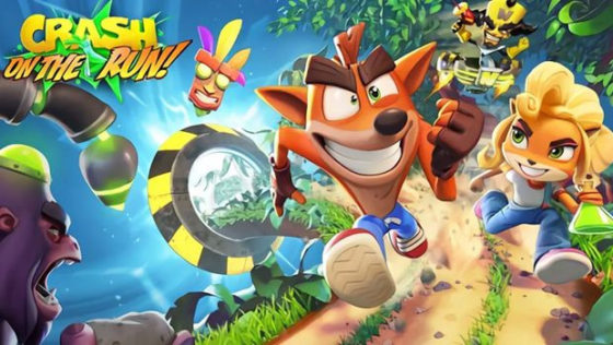 Crash On The Run title card