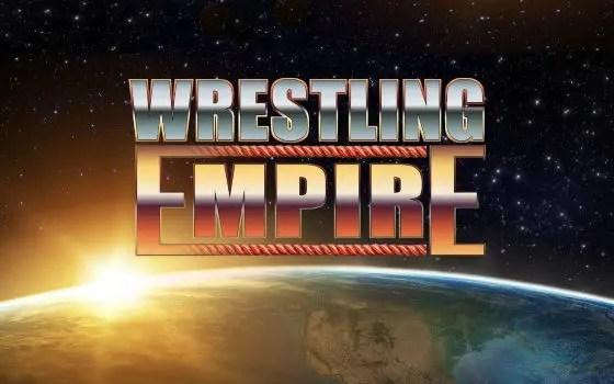 Empire Wrestling title screen