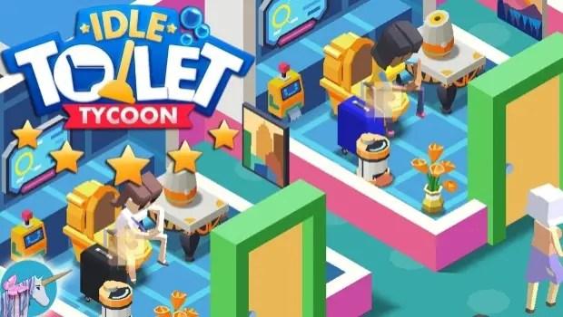Idle Toilet Tycoon title
