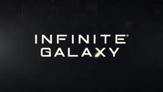 Infinite Galaxy title screen