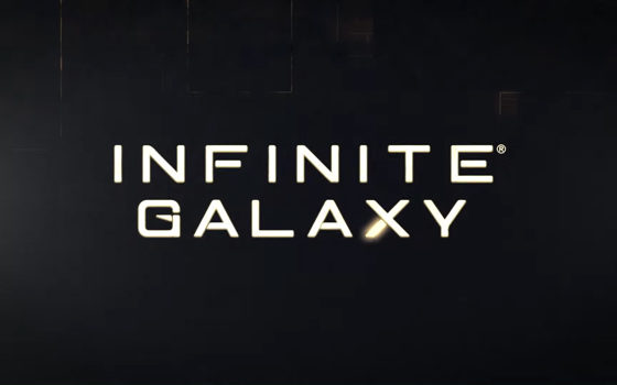 Infinite Galaxy title screen