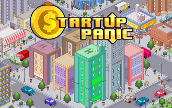 Startup Panic title screen