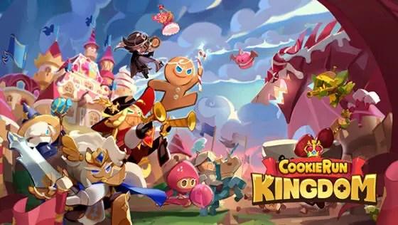 Cookie Run: Kingdom title screen