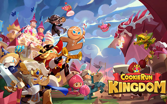 Cookie Run: Kingdom title screen