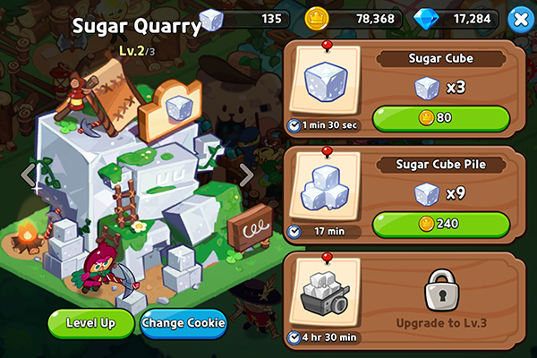 Cookie Run: Kingdom Sugar Quarry