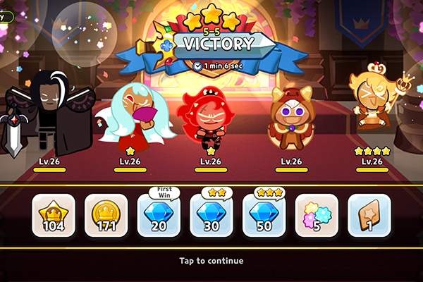 Cookie Run: Kingdom PvP victory