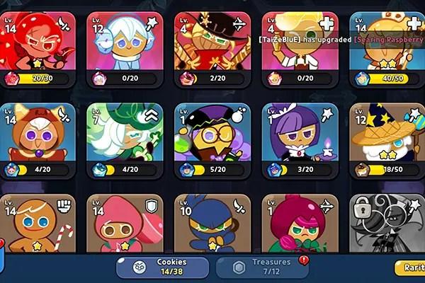 Cookie Run: Kingdom roster