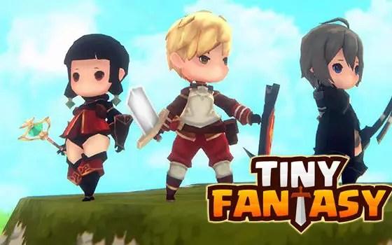 Tiny Fantasy title screen