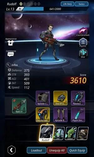 Stellar Hunter Character Customizer