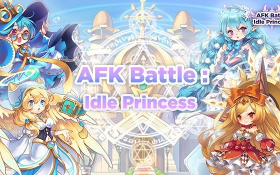AFK Battle Idle Princess promo