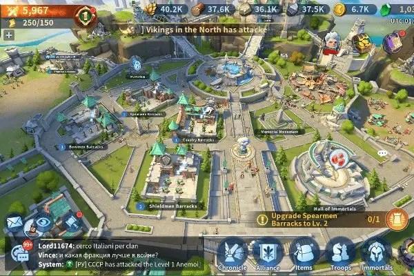 Infinity Kingdom city