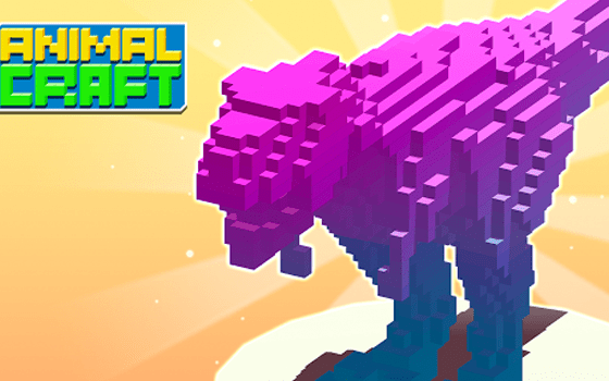 Animal Craft 3D: Idle Kingdom title screen