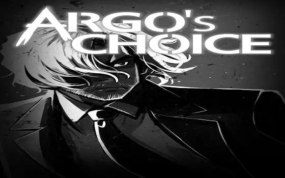 Argo's Choice title screen