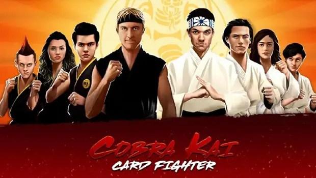 Cobra Kai: Card Fighter Title Screen