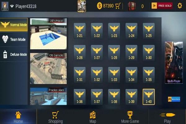 Encounter Strike 2021 Map Screen