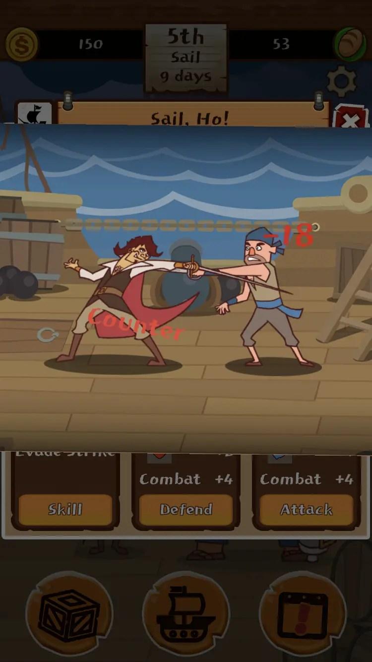 Pirates of Freeport combat