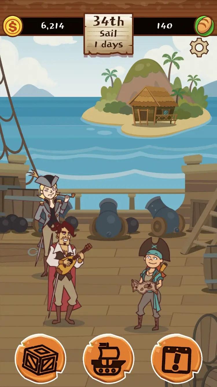 Pirates of Freeport crew