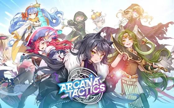 Arcana Tactics title card