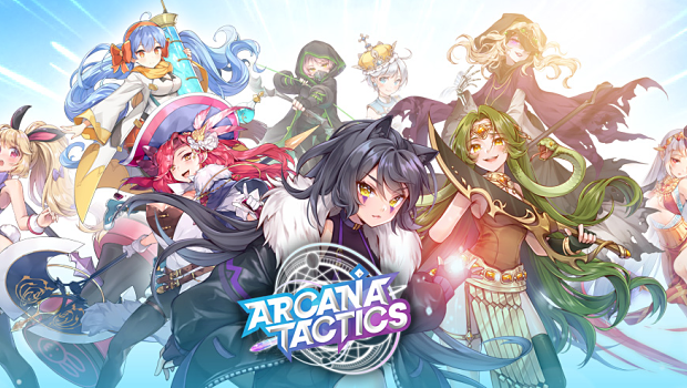 Arcana Tactics title card