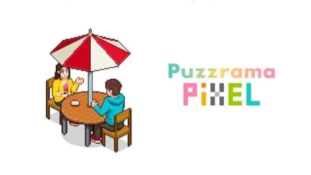 Puzzrama Pixel title card