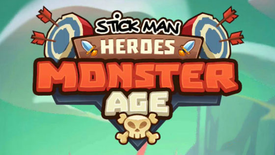 Idle Stickman Heroes Monster Age logo