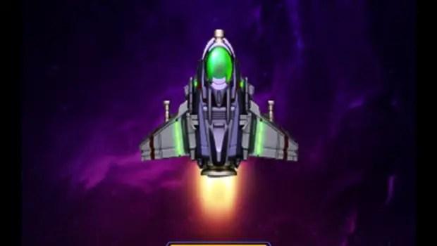 space war title screen