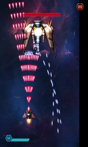 space war: starship shooter boss battle