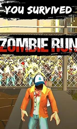 Zombie Apocalypse Run victory screen
