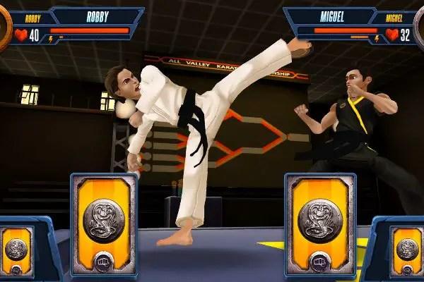 Cobra Kai fighting
