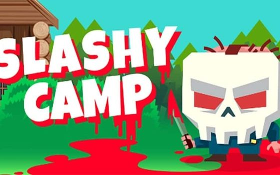 Slashy Camp Logo SkullFace