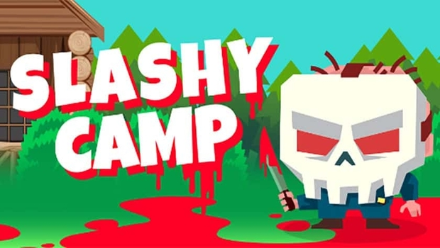 Slashy Camp Logo SkullFace