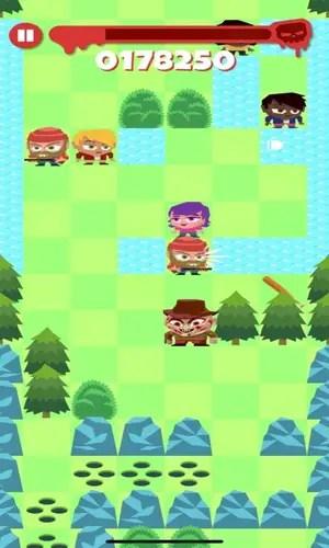 Slashy Camp Endless Runner Game Play