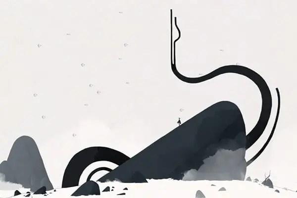 GRIS snowy mountain